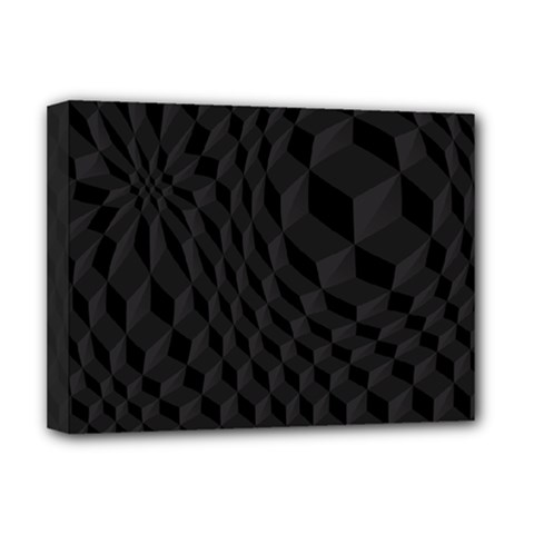 Pattern Dark Texture Background Deluxe Canvas 16  x 12