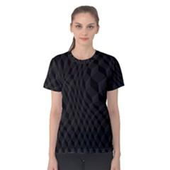 Pattern Dark Texture Background Women s Cotton Tee