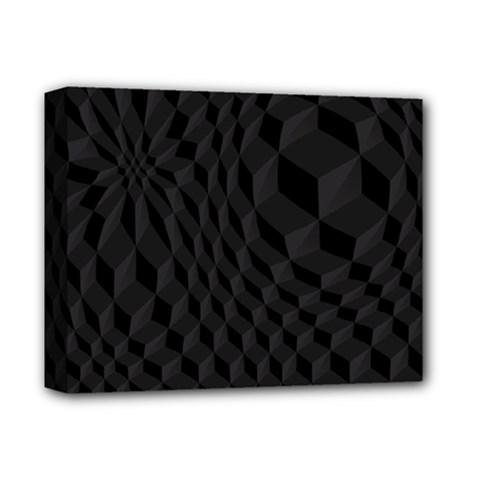 Pattern Dark Texture Background Deluxe Canvas 14  x 11