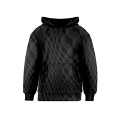 Pattern Dark Texture Background Kids  Pullover Hoodie