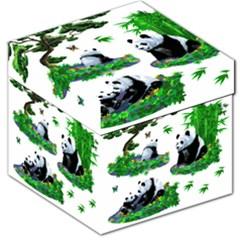 Cute Panda Cartoon Storage Stool 12