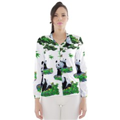 Cute Panda Cartoon Wind Breaker (women)