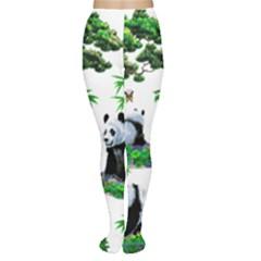 Cute Panda Cartoon Women s Tights