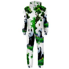 Cute Panda Cartoon Hooded Jumpsuit (men)