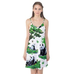 Cute Panda Cartoon Camis Nightgown