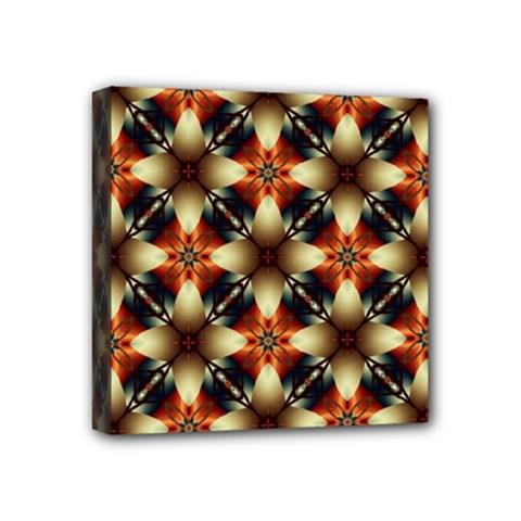 Kaleidoscope Image Background Mini Canvas 4  X 4