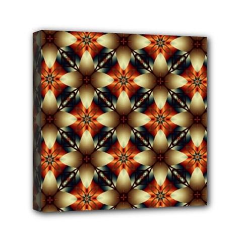 Kaleidoscope Image Background Mini Canvas 6  X 6