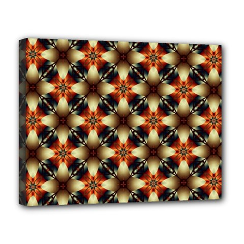 Kaleidoscope Image Background Canvas 14  X 11
