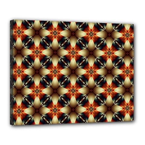 Kaleidoscope Image Background Canvas 20  X 16