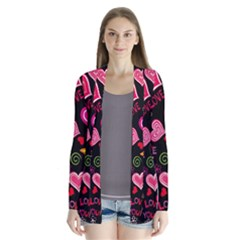 Love Hearts Sweet Vector Cardigans
