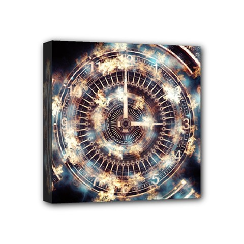 Science Fiction Background Fantasy Mini Canvas 4  x 4