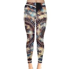 Science Fiction Background Fantasy Leggings