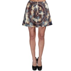 Science Fiction Background Fantasy Skater Skirt