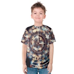 Science Fiction Background Fantasy Kids  Cotton Tee