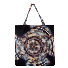Science Fiction Background Fantasy Grocery Tote Bag
