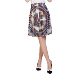 Science Fiction Background Fantasy A Line Skirt