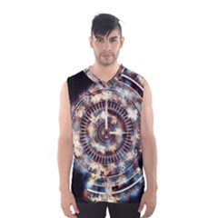Science Fiction Background Fantasy Men s Basketball Tank Top