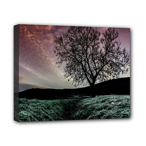 Sky Landscape Nature Clouds Canvas 10  x 8