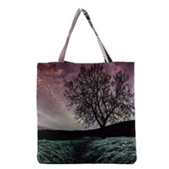 Sky Landscape Nature Clouds Grocery Tote Bag