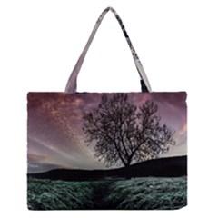 Sky Landscape Nature Clouds Medium Zipper Tote Bag