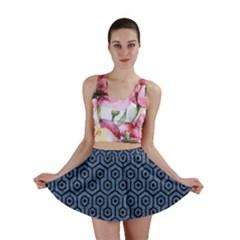 HXG1 BK-MRBL BL-DENM (R) Mini Skirt