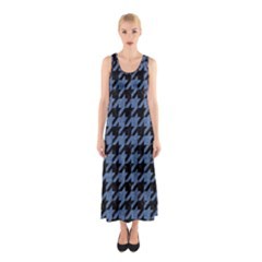 HTH2 BK-MRBL BL-DENM Sleeveless Maxi Dress