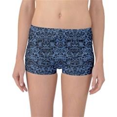 DMS2 BK-MRBL BL-DENM (R) Reversible Bikini Bottoms