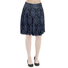 DMS1 BK-MRBL BL-DENM Pleated Skirt