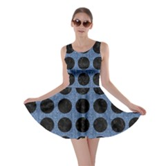 CIR1 BK-MRBL BL-DENM (R) Skater Dress
