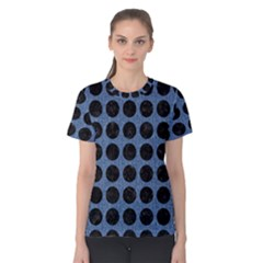 CIR1 BK-MRBL BL-DENM (R) Women s Cotton Tee