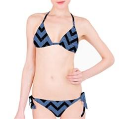 CHV9 BK-MRBL BL-DENM (R) Bikini Set