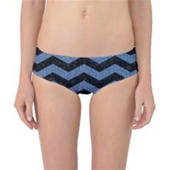CHV3 BK-MRBL BL-DENM Classic Bikini Bottoms