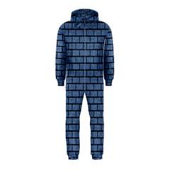 BRK1 BK-MRBL BL-DENM (R) Hooded Jumpsuit (Kids)