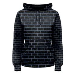 BRK1 BK-MRBL BL-DENM Women s Pullover Hoodie