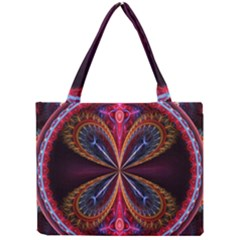 3d Abstract Ring Mini Tote Bag