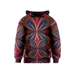 3d Abstract Ring Kids  Pullover Hoodie