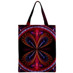 3d Abstract Ring Zipper Classic Tote Bag