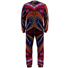 3d Abstract Ring OnePiece Jumpsuit (Men)
