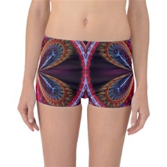 3d Abstract Ring Reversible Bikini Bottoms