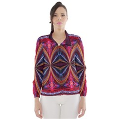 3d Abstract Ring Wind Breaker (Women)