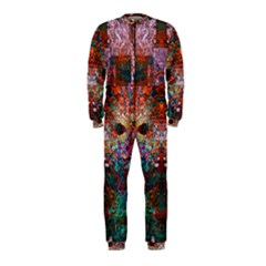 Modern Abstract Geometric Art Rainbow Colors OnePiece Jumpsuit (Kids)