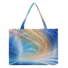Glow Motion Lines Light Medium Tote Bag