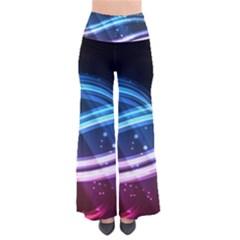 Illustrations Color Purple Blue Circle Space Pants