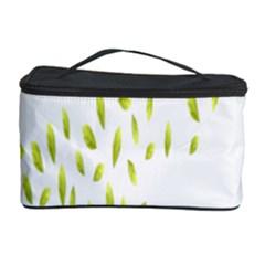 Leaves Leaf Green Fly Landing Cosmetic Storage Case