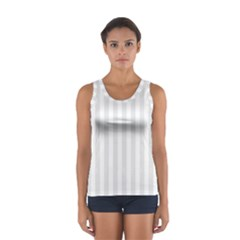 Main Field Football Sport Gray Women s Sport Tank Top