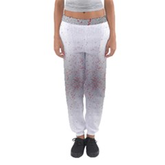 Physical Chemistry Circle Red Grey Women s Jogger Sweatpants