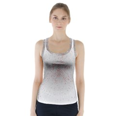 Physical Chemistry Circle Red Grey Racer Back Sports Top