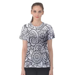 These Flowers Need Colour! Women s Sport Mesh Tee