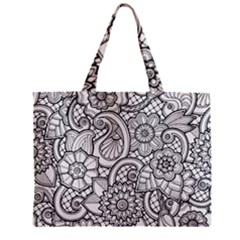 These Flowers Need Colour! Mini Tote Bag