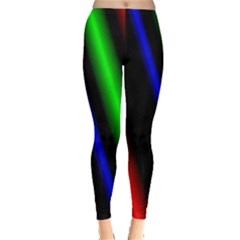 Multi Color Neon Background Leggings